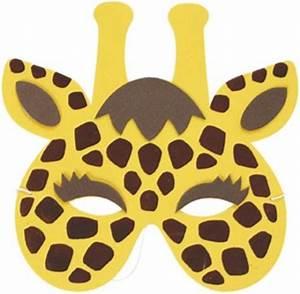 Giraffe Soft Foam Face Mask for Kids 20021GI