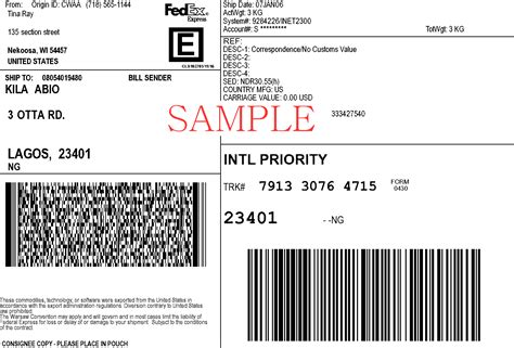 Fedex Label Template Word by Create A Fedex Label With Account Number Fedexlabel Made