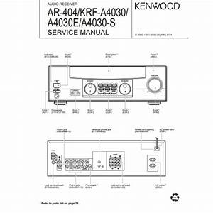 Kenwood Service Manuals  Owners Manuals And Schematics On