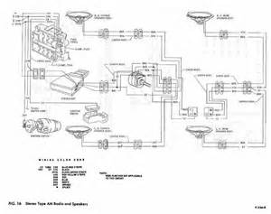 Stereo Tape Am And Speakers Schematic Diagram Of 1967