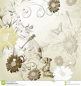 elegant wedding invitation card for your design stock With elegant floral wedding invitations vector