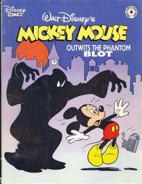 mickey mouse outwits  phantom blot disney comics album