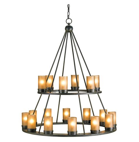 Black Wrought Iron And Chandelier by Black Wrought Iron Rustic Lodge Tiered 18 Light Candle