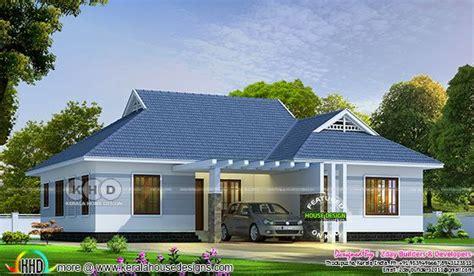 bedroom single storied colonial home design kerala