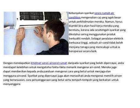 service aircond rumah kajang cheras balakong