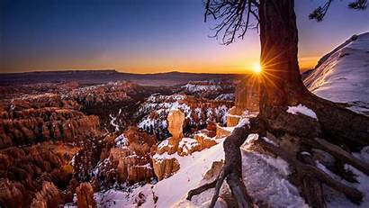 Canyon Bryce Sunset Park National During Wallpapers