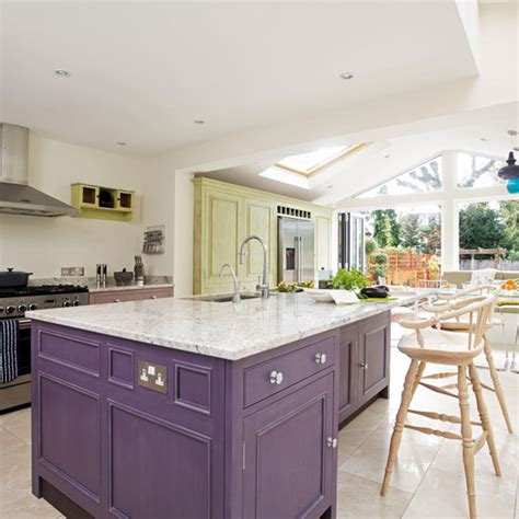 kitchen island extension kitchen extensions ideal home 1907