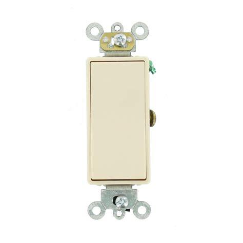Leviton Amp Way Decora Plus Switch Light Almond