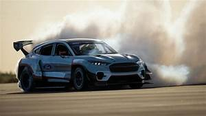 Ford Mustang Mach-E 1400 electric track, drift car revealed | Autoblog