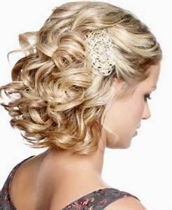 Coiffure Mariage Cheveux Courts Photos : coiffure mariage cheveux boucl s court ~ Melissatoandfro.com Idées de Décoration