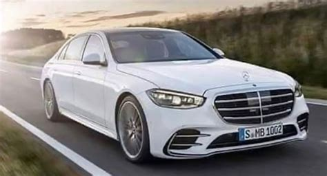 The mbux display has 50% faster processing power. First Images Of 2021 Mercedes S-Class Point To An Elegant Continuation For The Luxury Icon ...