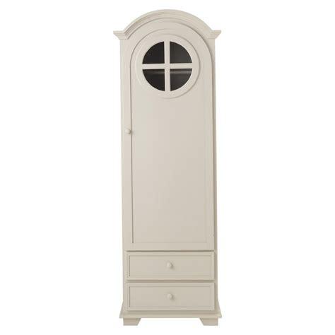 armoire bonneti 232 re en bois taupe l 62 cm pastel maisons