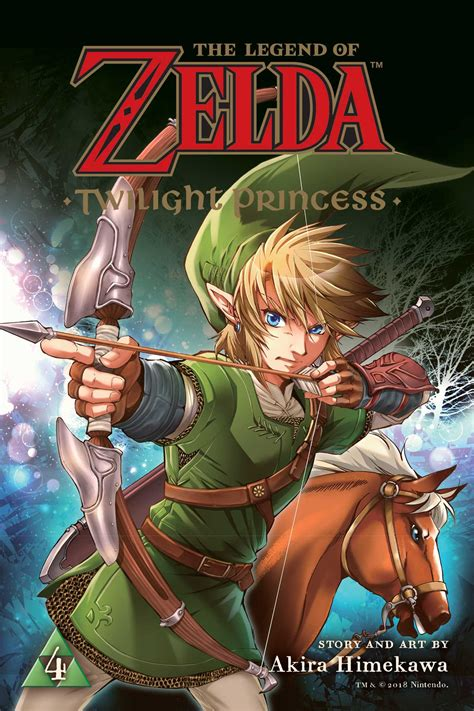 The Legend Of Zelda Twilight Princess Vol 4 Book By