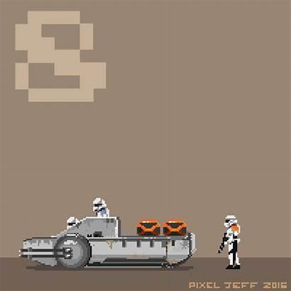 Pixel Rogue Star Wars Abduzeedo Update Version