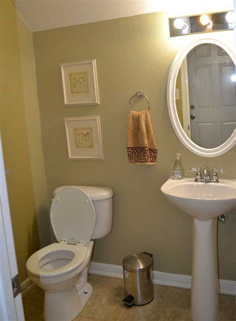 Half Bathroom Ideas For Small Bathrooms by Small Half Bathroom Color Ideas Info Home And Furniture