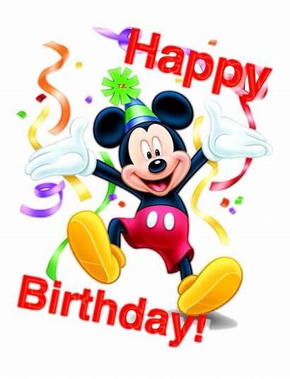 Birthday Happy Mickey Mouse Cartoon Transparent Pngio