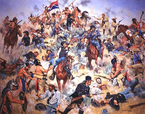 custer last stand quotes