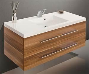 Badmöbel Mit Waschbecken : badm bel set mit waschbecken und waschtisch 120 cm 606 ~ Orissabook.com Haus und Dekorationen