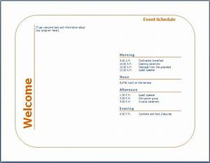 event schedule template new calendar template site With program templates for events