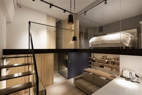 簡約工業風夾層空間設計 板橋夾層住宅 @ 蟲點子創意設計 痞客邦
