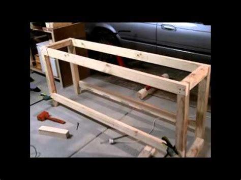 sscustoms   build  garage workshop workbench