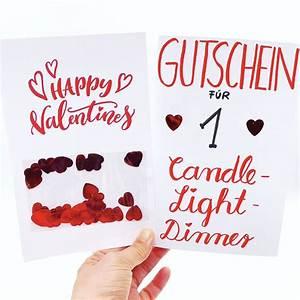 Geschenke Für Freundin Selber Basteln : karten selbst gestalten valentinstag karte selber machen diy geschenke pinterest diy und ~ Yasmunasinghe.com Haus und Dekorationen