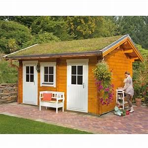 Skan Holz Gartenhaus : skan holz 45 mm gartenhaus lausanne skanholz ~ Watch28wear.com Haus und Dekorationen