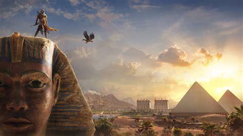 Assassins Creed Wallpaper 4k Bayek Sphinx Assassins Creed Origins Wallpaper