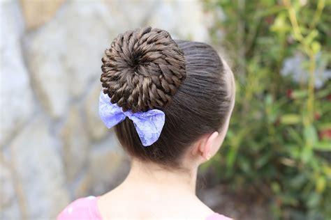 2-minute Bubble Bun Hairstyle