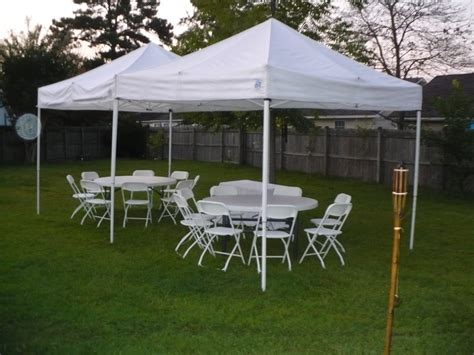 a tent event renting tents tables chairs