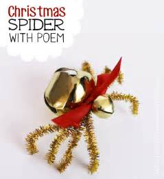 the christmas spider diy free poem printable our peaceful planet