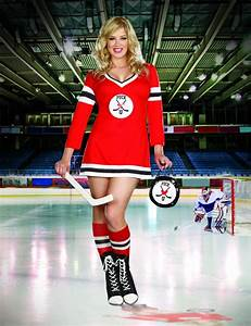 Womens Ice Hockey Costume - Sports Outfit (Plus Size) by Dreamgirl
