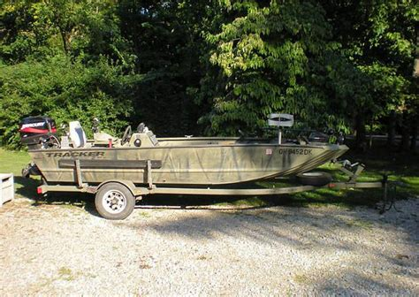 Used Tracker Fishing Boats by Tracker Duck Boats For Sale
