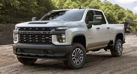 2020 Chevrolet Hd Gas Engine by Chevrolet Previews The 2020 Chevy Silverado Hd With Images