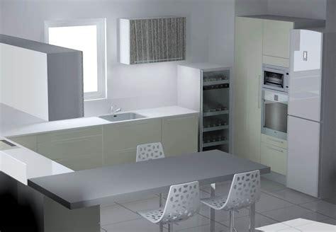plan de cuisine en 3d etude cuisine montpellier 2