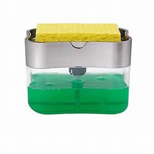 Soap Dispenser Manual Press Liquid Soap Dispenser With