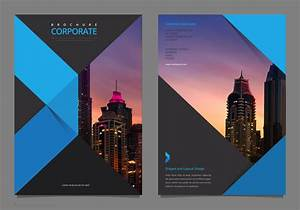 Modern Charts And Graphs Professional Elegant Corporate Flyer Template Mock Up