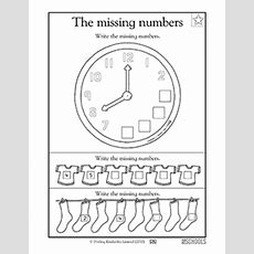 1st Grade, Kindergarten Math Worksheets Missing Numbers! Greatkids