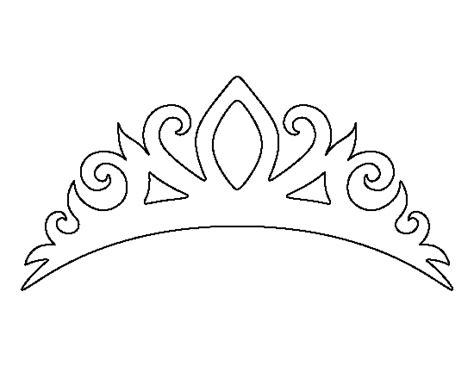 free printable tiara template printable tiara template