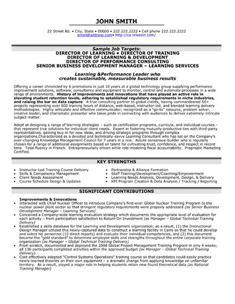 director of learning resume template premium resume