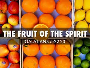 Fruit of the Spirit PowerPoint Presentation