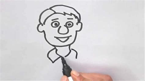 draw  cartoon face  easy steps  children