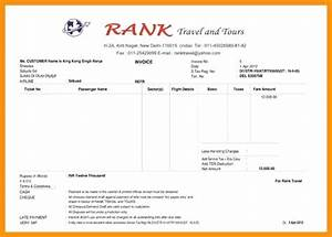 travel invoice template travel company invoice tours and With travel invoice format in word