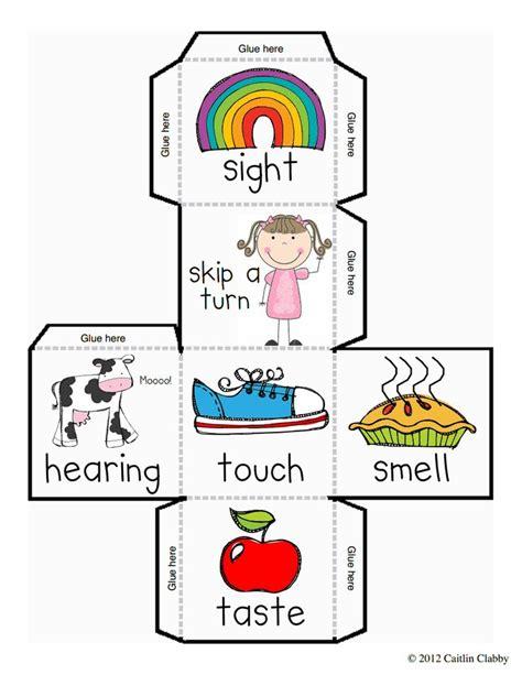 five senses dice and recording sheet free 5 senses 316   38fc4a163e877e7f67aaeeb66537ad98 five senses activities kinder science