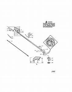 358 795570 Craftsman Gasoline Weedwacker 25 Cc 1 5 Cu  In