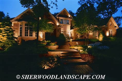 michigan outdoor landscape lighting gallery michigan