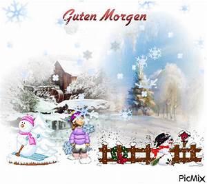 Guten Morgen Winterlich : guten morgen picmix ~ Buech-reservation.com Haus und Dekorationen