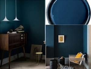 Möbel Dunkles Holz : wandfarbe petrol m belideen ~ Michelbontemps.com Haus und Dekorationen