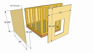 simple diy dog house plans dog house plans favorite With large dog house size