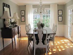 living room dining room paint ideas with chair rail With dining room paint colors with chair rail